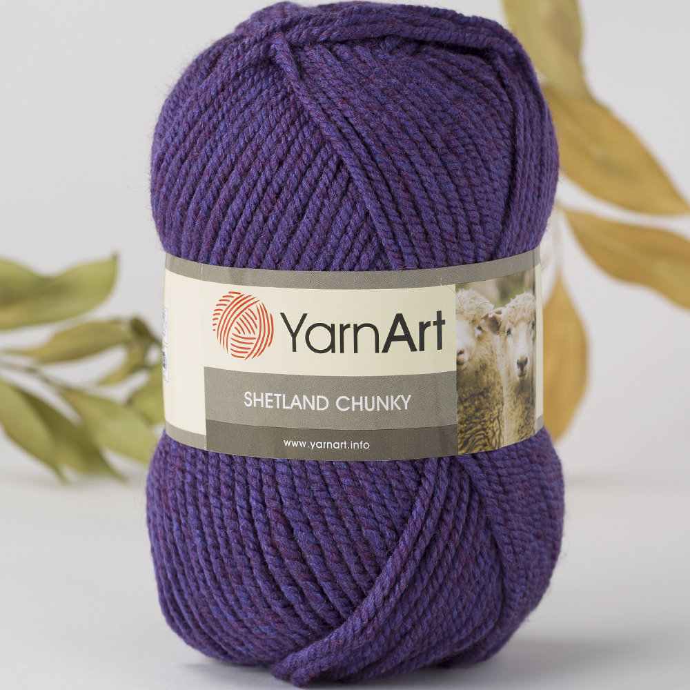 Нитки yarn art shetland, color 516, 45% virgin wool