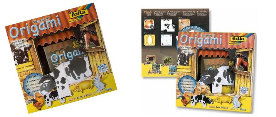 Çocuklara Özel Eğlenceli Origami Seti!