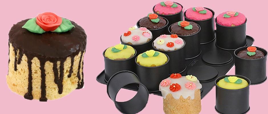 Zenker Mini Kek Yapımı