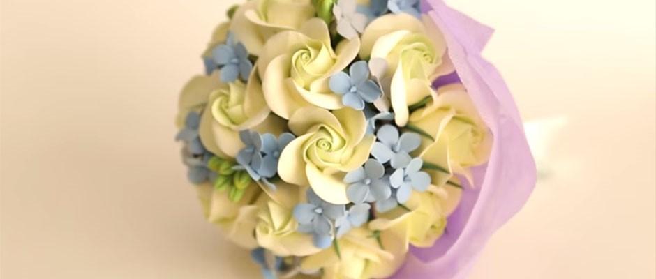 Goodwin Sanat Kili ile  Gelin  El Çiçeği Yapımı
