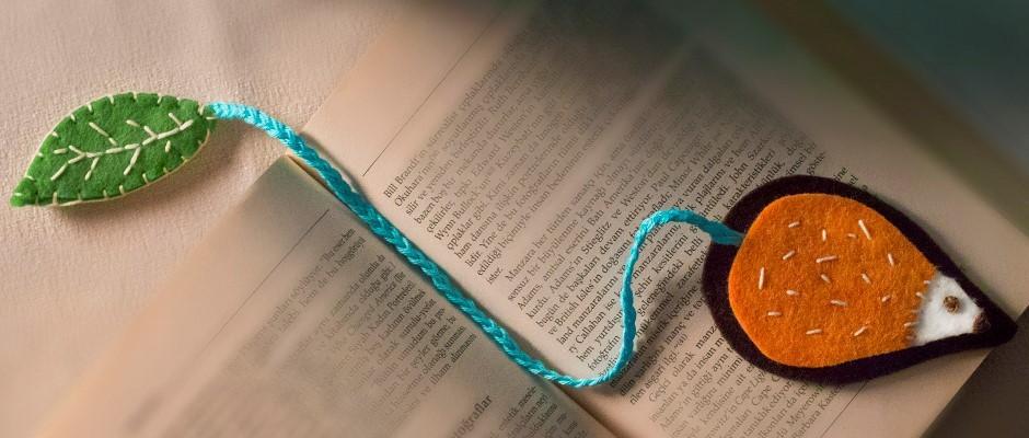 Keçe Kumaş ile  Kitap Ayracı Yapımı