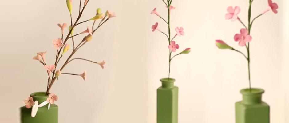 Sanat Kili ile Dal ve Üzerine Kalanşo Çiçeği Yapımı