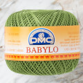 Dmc Babylo 50gr Cotton crochet thread No:10, Green - 3346