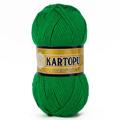 Kartopu 5'li Paket Resital Çimen Yeşili El Örgü İpi - K416