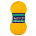 Kartopu 5 Pack Super Perle Knitting Yarn, Mustard - K320