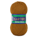 Kartopu 5 Skeins Super Perle Knitting Yarn, Brown - K365