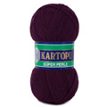 Kartopu 5 Pack Super Perle Knitting Yarn, Dark Purple - K729