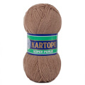 Kartopu 5 Pack Super Perle Knitting Yarn, Dark Beige - K885