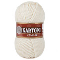 Kartopu Zambak Chunky Knitting Yarn, Off White - K025