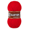 Kartopu Zambak Chunky Knitting Yarn, Red - K150