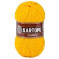 Kartopu Zambak Chunky Knitting Yarn, Mustard Yellow - K320