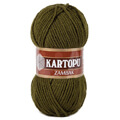 Kartopu Zambak Chunky Knitting Yarn, Dark Green - K410