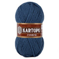 Kartopu Zambak Chunky Knitting Yarn, Deep Blue - K650