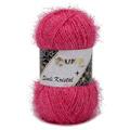Kartopu 5 Skeins Simli Kristal Sparkle Knitting Yarn, Pink - K771