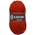 Kartopu Zambak Chunky Knitting Yarn, Orange - K237