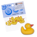 Dress It Up Creative Button Assortment, Bath Ducks - 1326