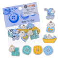 Dress It Up Creative Button Assortment, Baby Fun, Boy - 5196