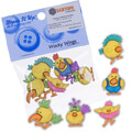 Dress It Up Creative Button Assortment, Wacky Wings - 6540