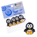 Dress It Up Creative Button Assortment, Playful Penguins - 5816