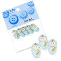 Dress It Up Creative Button Assortment, Baby Boys - 5193