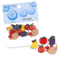 Dress It Up Creative Button Assortment, Fruit Salad - 132