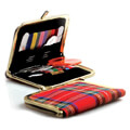 Kartopu Sewing Supplies Kit with Red Plaid Case - K021.1.0003