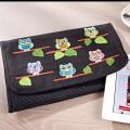 Duftin Stitch-Art Owls Motif Tablet Case Cross Stitch Kit - 19657-AA0364