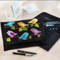 Duftin Stitch-Art Birds Motif Tablet Case Cross Stitch Kit - 19639-AA0364
