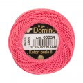 Domino Cotton Perle Size 8 Embroidery Thread (8 g), Pink - 4598008-00054