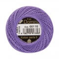 Domino Cotton Perle Size 8 Embroidery Thread (8 g), Purple - 4598008-00110