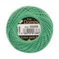 Domino Cotton Perle Size 8 Embroidery Thread (8 g), Green - 4598008-00209
