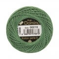 Domino Cotton Perle Size 8 Embroidery Thread (8 g), Green - 4598008-00210