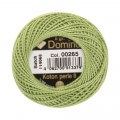 Domino Cotton Perle Size 8 Embroidery Thread (8 g), Green - 4598008-00265