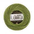 Domino Cotton Perle Size 8 Embroidery Thread (8 g), Green - 4598008-00267
