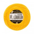 Domino Cotton Perle Size 8 Embroidery Thread (8 g), Yellow - 4598008-00298