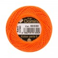 Domino Cotton Perle Size 8 Embroidery Thread (8 g), Orange - 4598008-00330