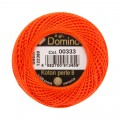 Domino Cotton Perle Size 8 Embroidery Thread (8 g), Orange - 4598008-00333