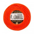 Domino Cotton Perle Size 8 Embroidery Thread (8 g), Orange - 4598008-00335