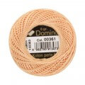 Domino Cotton Perle Size 8 Embroidery Thread (8 g), Orange - 4598008-00361