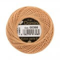 Domino Cotton Perle Size 8 Embroidery Thread (8 g), Beige - 4598008-00368