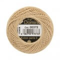 Domino Cotton Perle Size 8 Embroidery Thread (8 g), Brown - 4598008-00372