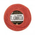 Domino Cotton Perle Size 8 Embroidery Thread (8 g), Red - 4598008-00382