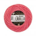 Domino Cotton Perle Size 8 Embroidery Thread (8 g), Pink - 4598008-00467
