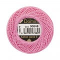 Domino Cotton Perle Size 8 Embroidery Thread (8 g), Pink - 4598008-00848