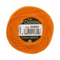 Domino Cotton Perle Size 8 Embroidery Thread (8 g), Orange - 4598008-00925