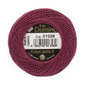 Domino Cotton Perle Size 8 Embroidery Thread (8 g), Purple - 4598008-01028