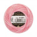 Domino Cotton Perle Size 8 Embroidery Thread (8 g), Pink - 4598008-01201