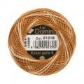 Domino Cotton Perle Size 8 Embroidery Thread (8 g), Variegated - 4598008-01218