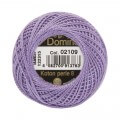 Domino Cotton Perle Size 8 Embroidery Thread (8 g), Purple - 4598008-02109