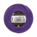 Domino Cotton Perle Size 8 Embroidery Thread (8 g), Purple - 4598008-02112